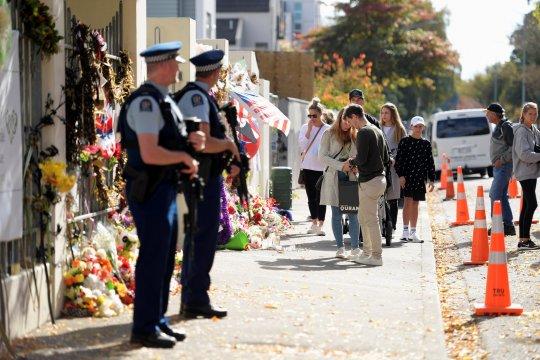 Polisi Selandia Baru tahan pria di Christchurch