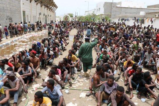 PBB minta pembebasan ribuan tahanan migran di Yaman