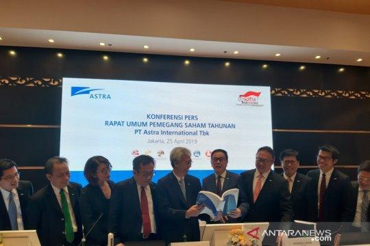 Astra International catat pendapatan Rp59,6 triliun triwulan I 2019