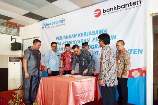 Bank Banten - BPR Baturaja kerja sama pelayanan pensiunan