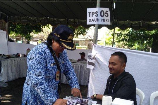 TPS 05 Dauh Puri Denpasar laksanakan Pemungutan Suara Ulang