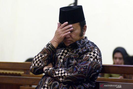 Bupati Lampung Selatan nonaktif divonis 12 tahun penjara