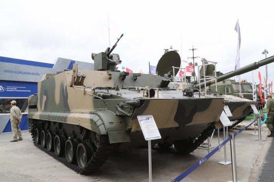 Kontrak pengadaan APC BT-3F buatan Rusia ditandatangani