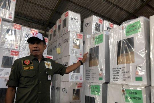 KPU Bangka Tengah siapkan logistik PSU