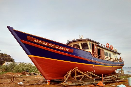 Kemenhub bantu Nunukan satu unit kapal pelayaran rakyat