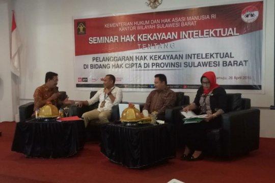 Kemenkum HAM Sulbar gelar seminar terkait pelanggaran HAKI