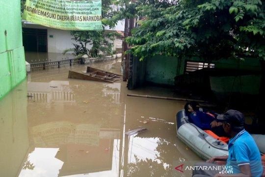 Banjir di Cililitan mulai surut