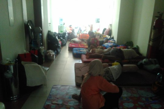 Rusunawa Pengadegan tampung korban pengungsi banjir
