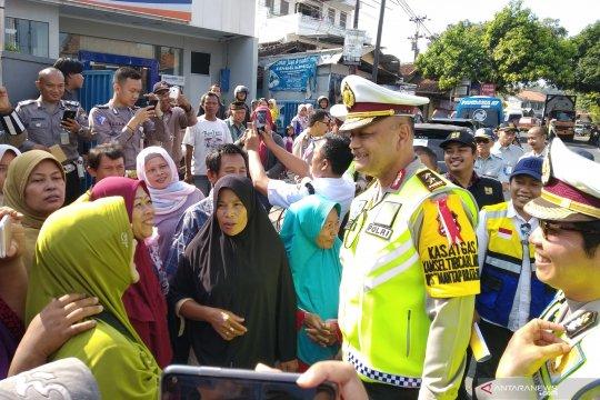 Korlantas Polri akan tertibkan Pasar Tonjong Brebes Jateng