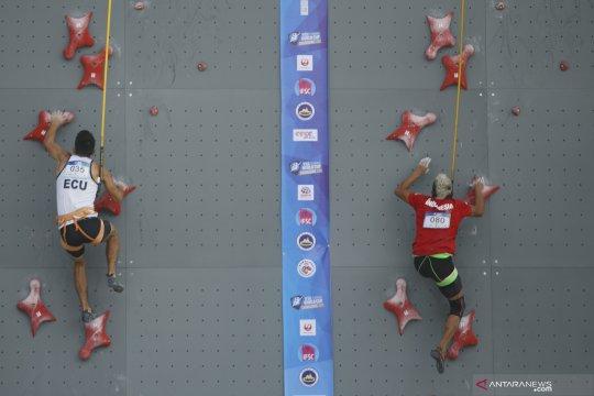 Aspar Jaelolo ikuti Kejuaraan Dunia Panjat Tebing Chongqing