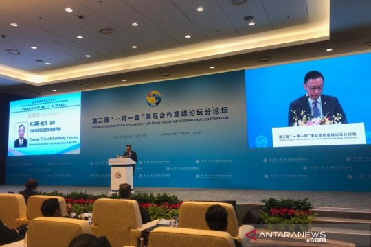 Thomas Lembong sebut fokus proyek Belt and Road di 3+1 koridor ekonomi