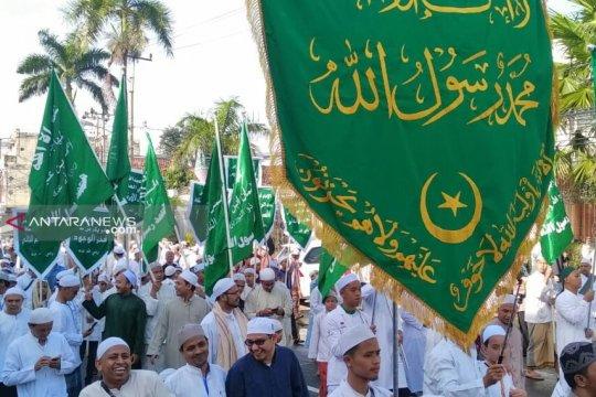 Ribuan warga Palembang ikuti ziarah kubro