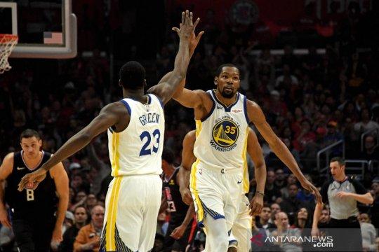 Durant antar Warriors ke putaran kedua