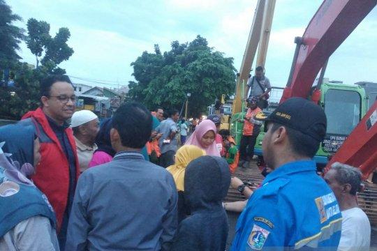 Gubernur Anies segera remajakan pompa air untuk antisipasi banjir