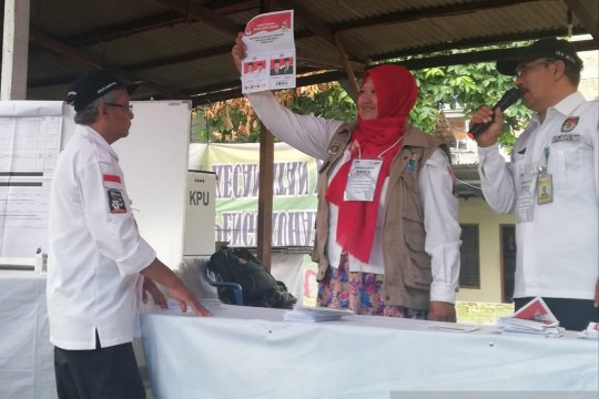 Prabowo peroleh suara terbanyak di dua TPS PSU Pulogadung