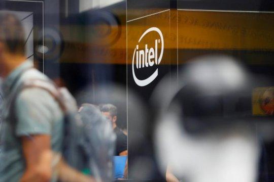 Bursa Wall Street menguat, namun saham Intel anjlok 8,99 persen