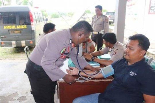 Dokkes Polda pastikan kesehatan personel pengamanan Pemilu