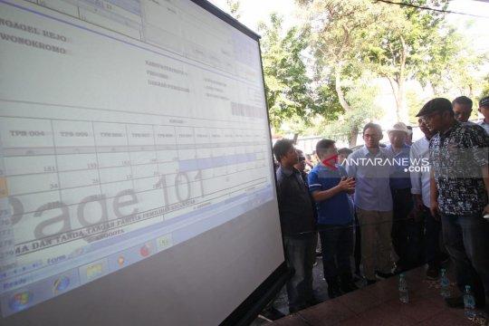 Sandiaga Uno pastikan rekapitulasi di Surabaya berlangsung jujur adil