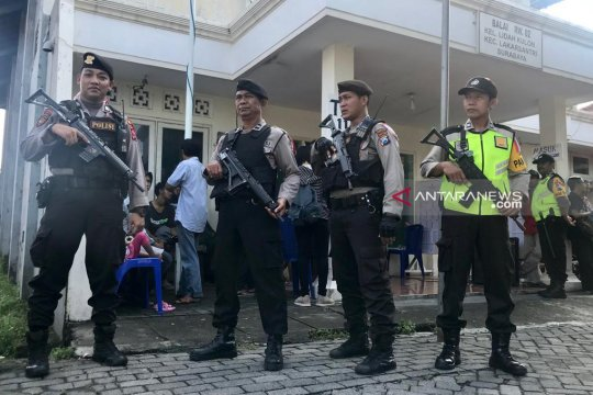 Kapolrestabes Surabaya: Penjagaan ketat di TPS PSU antisipasi keamanan