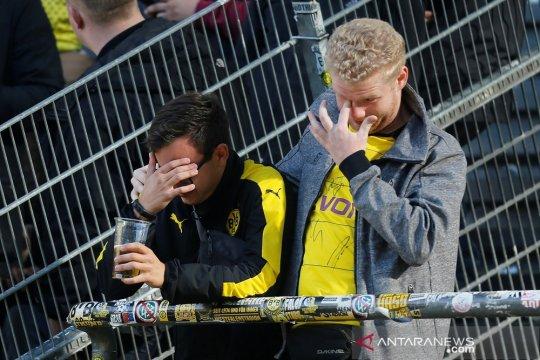 Hasil dan klasemen Liga Jerman, Dortmund buang peluang ke puncak
