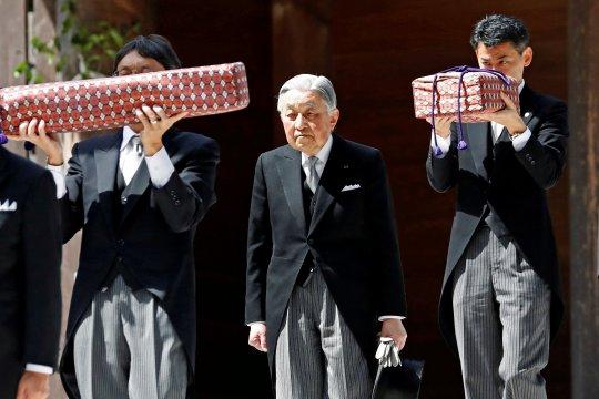 Sejumlah peristiwa penting dalam kehidupan Kaisar Jepang Akihito