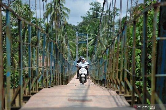 Kebutuhan jembatan gantung di Jambi