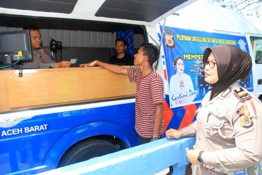 Rabu ini, lima titik layanan SIM keliling untuk Jakarta