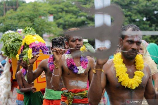 Perayaan Thaipusam India Tamil di Aceh