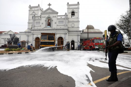 AS peringatkan ancaman nyata keamanan di Sri Lanka
