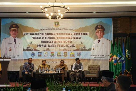 Untuk pembentukan BUMD agrobisnis Pemprov Banten revisi RPJMD