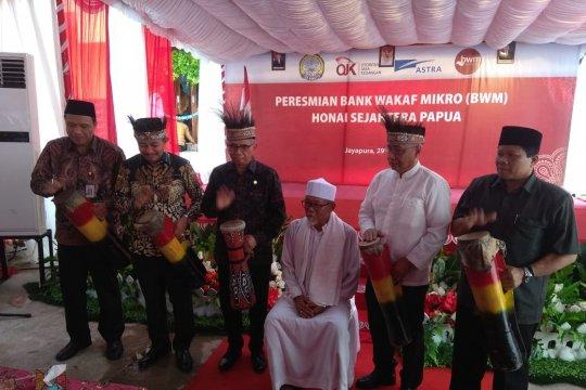 OJK resmikan bank wakaf mikro pertama di Papua