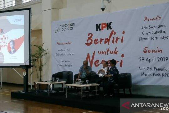 """Buku """"KPK Berdiri untuk Negeri"""" perkuat semangat antikorupsi"""