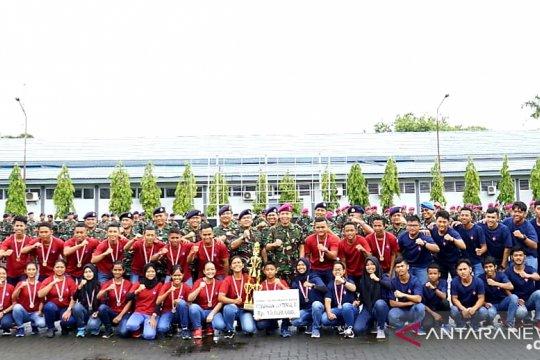 Tim Dayung Perahu Naga Lantamal Rajai Kejuaraan Dayung
