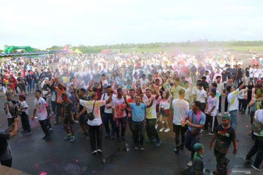 Ribuan Masyarakat Hadiri Kegiatan Supadio Open Base