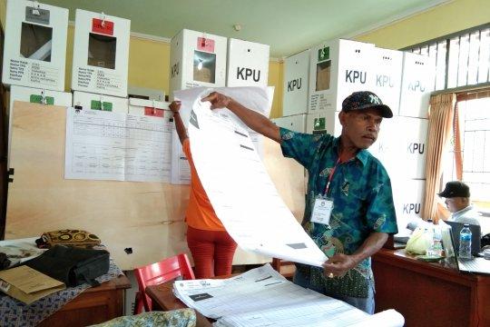 Jokowi-Ma'ruf ungguli Prabowo-Sandi di Kampung Yoka