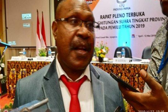 Rapat pleno KPU Papua dipastikan kembali diskors