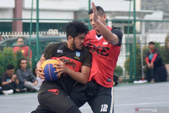 Uji coba timnas basket 3x3 jelang Sea Games Filipina
