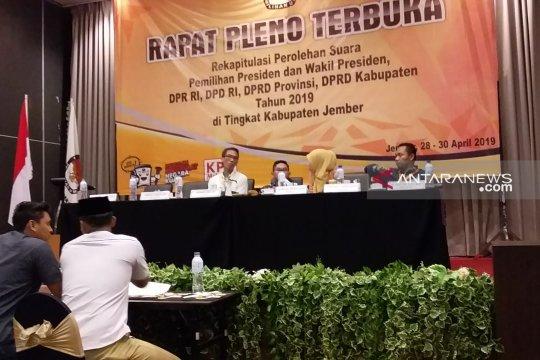 Jokowi-Ma'ruf unggul di 29 kecamatan di Jember