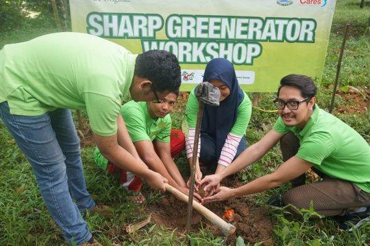 Rayakan Hari Bumi, Sharp Indonesia lakukan aksi hijau