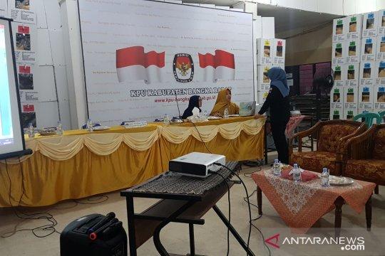 KPU Bangka Barat gelar rekapitulasi Pemilu 2019