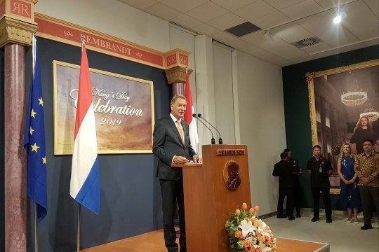 Dubes Belanda gunakan momentum King's Day untuk berpamitan