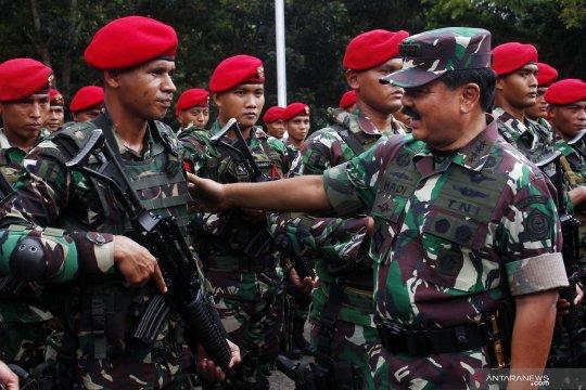 Panglima TNI kunjungi markas Kopassus di Serang