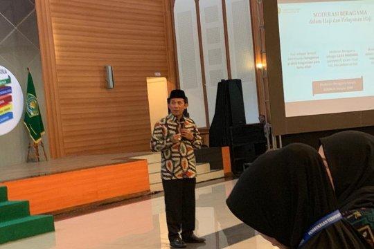 Dakwah Islam moderat ditekankan pada calon jemaah haji Indonesia