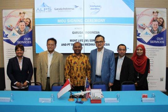 Garuda gandeng dua perusahaan Malaysia kerja sama wisata medis