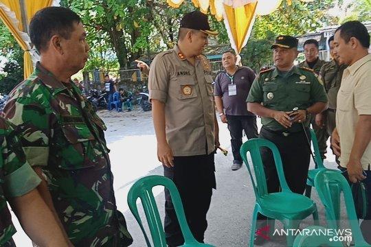 Polri-TNI jaga secara ketat pleno rekapitulasi pemilu di Bangka Barat