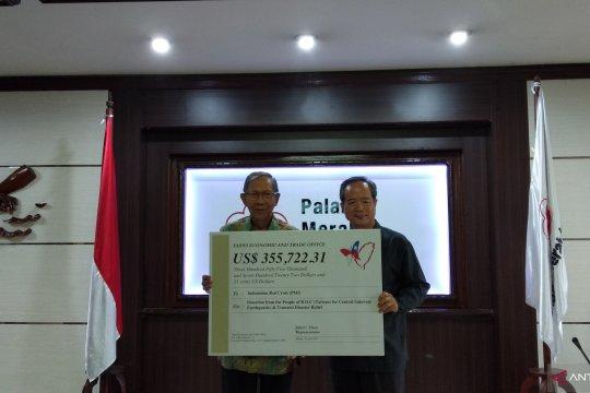 Taiwan serahkan bantuan Rp5,6 miliar untuk bangun sekolah di Sulteng