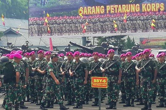 Panglima TNI: prajurit Marinir harus miliki jiwa kesatria