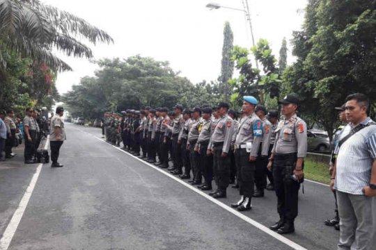 Rapat pleno tingkat Kabupaten Indramayu dijaga 176 personel gabungan