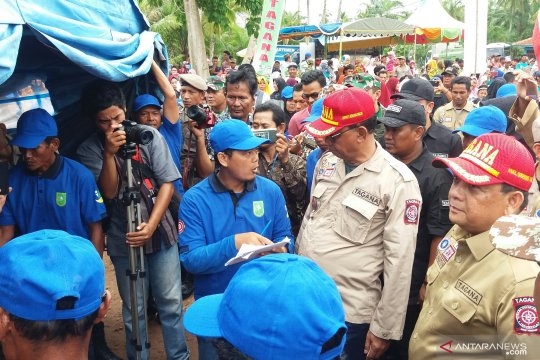 Pemprov Riau jadikan Desa Karya Mulyo Kampung Siaga Bencana
