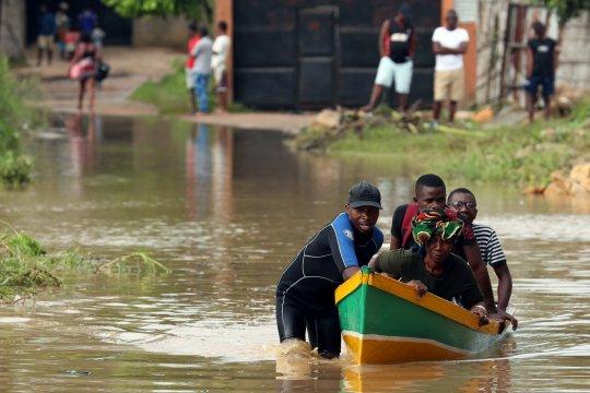 Rakyat Mozambik dicekam kekhawatiran karena hujan lebat kembali turun